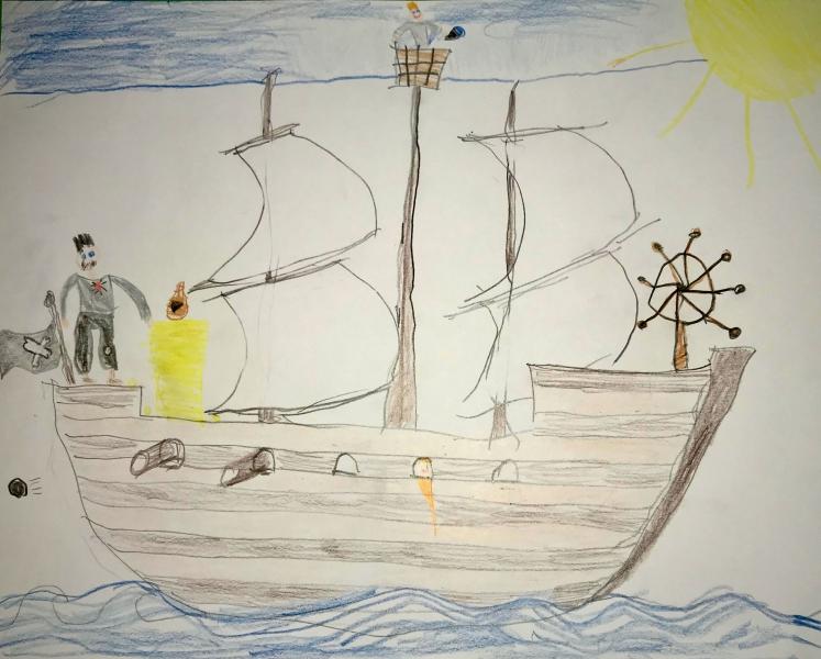 Rallye_Piratenschiff Bild