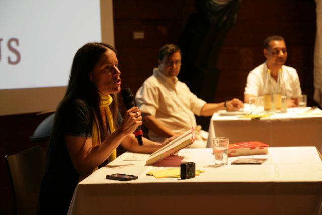 Isabel Abedi, Eduardo Macedo und Fernando Moreira