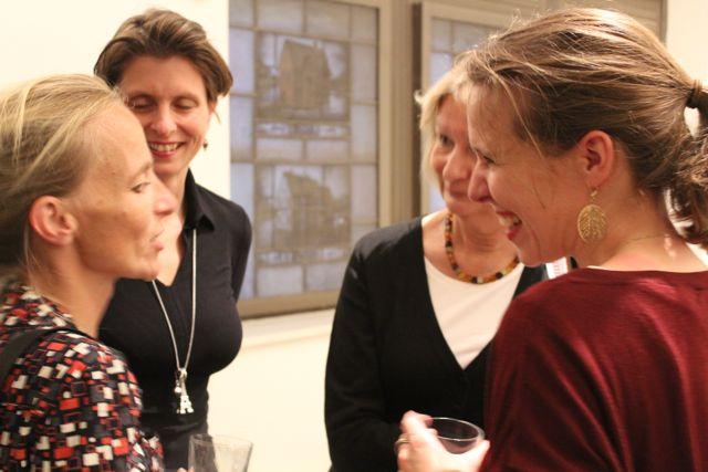 K. Mahrenholtz, Nina Kuhn, Kirsten Boie und Stefanie Ericke-Keidtel