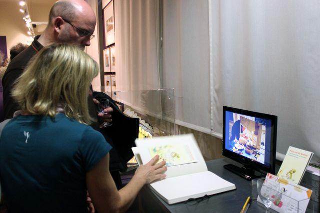 Monitor zu Karoline Kehrs Arbeit