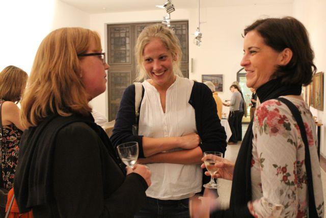 Nicole Hartmann (Oetinger), Tisa Pawils (Literaturkontor), Stefanie Schrader (Harbourfront)