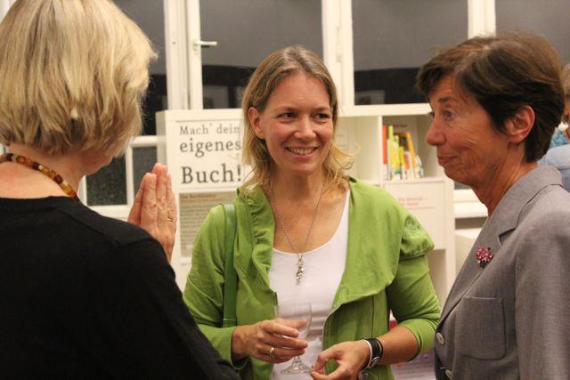Kirsten Boie und Silke Weitendorf (Oetinger) im Gespräch