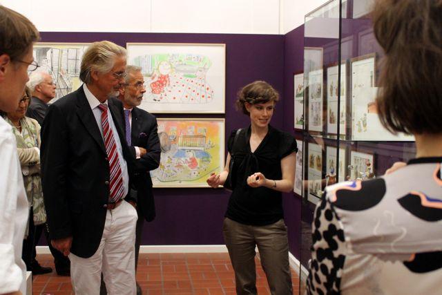 Führung durch die Ausstellung: Claudia Carls