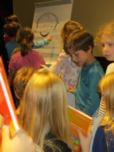 Rocco Randale Lesung im Hamburger Kinderbuchhaus