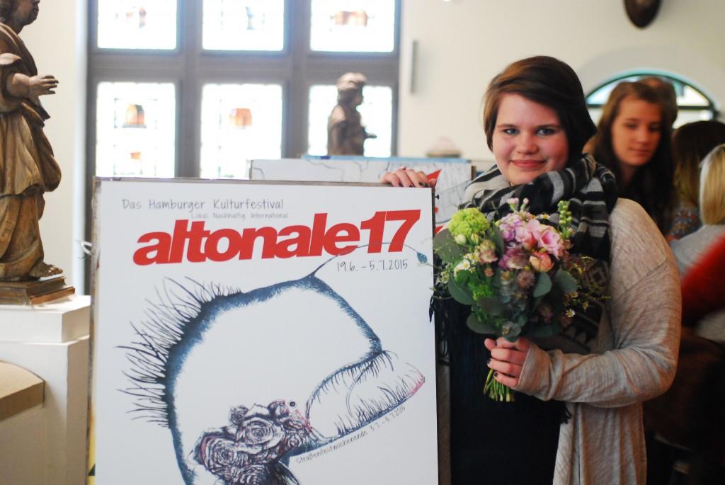 Gewinnerin des Plakatwettbewerbs: Lena Heck