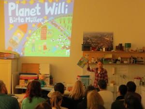 Besuch FSP 1-Werkstatt Birte Müller Planet Willi