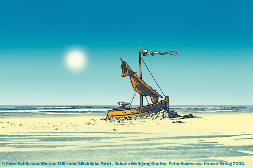 Schössow,Goethe-Meeresstille-und-Glückliche-Fahrt
