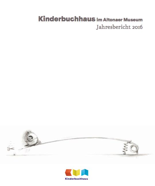 Kinderbuchhaus Jahresbericht 2016 - Titelillustration © Torben Kuhlmann. Armstrong. NordSüd Verlag 2016.